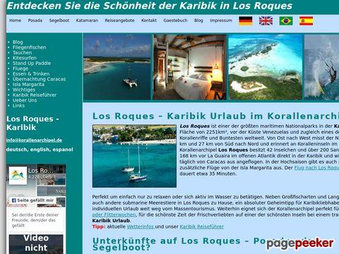 Urlaub in Los Roques in der Karibik