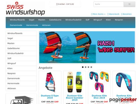 Swiss Windsurfshop | Online Surfshop