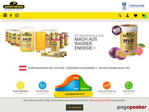 Peeroton Nahrungsergänzung und Sportlernahrung im Online Shop Schweiz