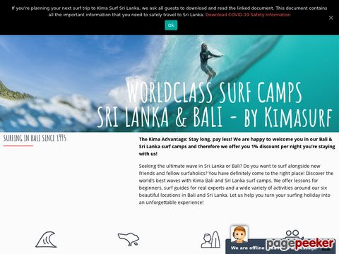 BALI SURFCAMP - presented by KIMA