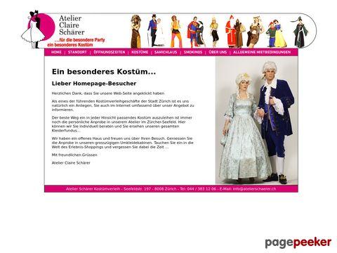 Kostümverleih Zürich Atelier Claire Schärer