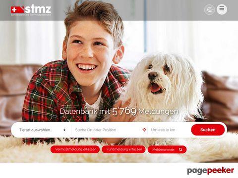 stmz.ch - Schweizerische Tiermeldezentral (STMZ)