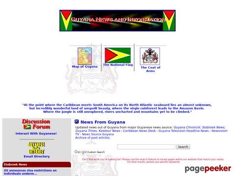 guyana.org - Guyana News and Information