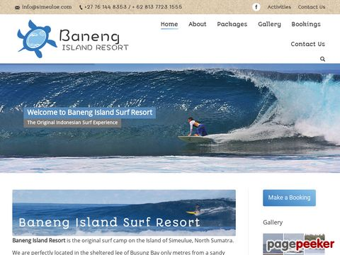 simeulue.com - Baneng Beach Retreat- Sumatra  Surf Trips