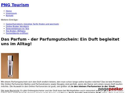 pngtourism.de - Deutscher Papua Neuguinea Guide