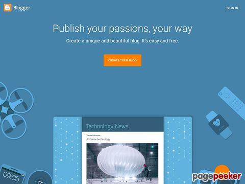 blogger.com - Erstellen Sie jetzt Ihr Blog