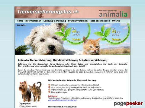 Animalia - Tierversicherungen für Hunde und Katzen