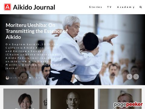 aikido.com - information about the founder of aikido: Morihei Ueshiba