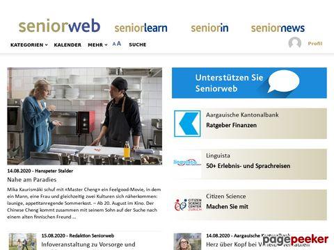 Seniorweb - das Portal von und für die Generation 50