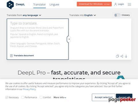 DeepL Translator - Künstliche Intelligenz für Sprachen