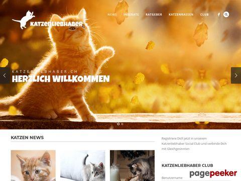 katzenliebhaber.ch - Katzenportal - Alles über Katzen