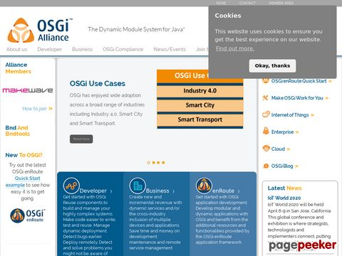 OSGi Alliance - OSGi - the dynamic module system for java