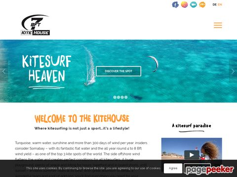 7Bft Kite House in Soma Bay, Egypt