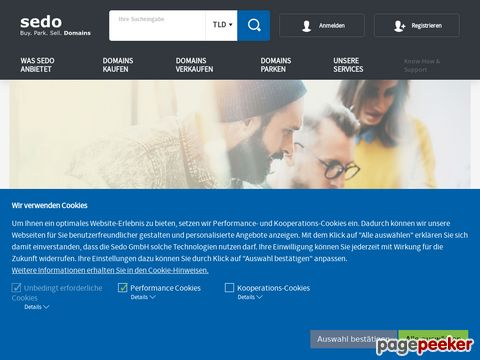 Sedo.de - Domains kaufen, verkaufen und bewerten