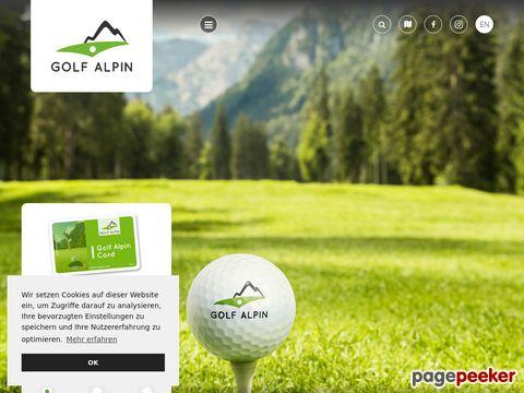 Golf & Golfurlaub Österreich | Golfpätze & Golfhotel Österreich