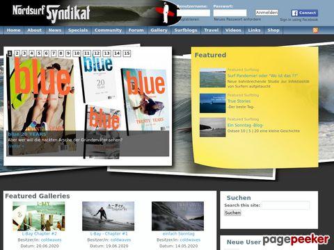 nordsurf-syndikat.de - Nordsurf-Syndikat - Wellenreiten, Surfen an Nordsee und Ostsee