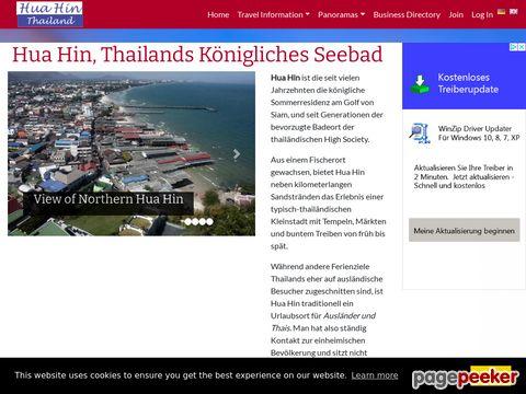 HUA HIN Thailand - Hua Hin, Thailands Königliches Seebad