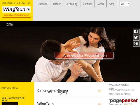 WingTsun.ch - Selbstverteidigung und Gesundheitstraining
