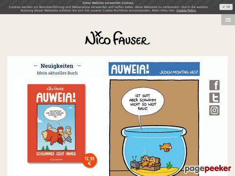 Auweia Cartoons von Fauser