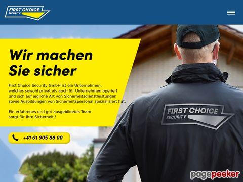 Firma First Choice Security GmbH