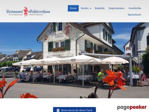 Restaurant Schützenhaus, Stäfa