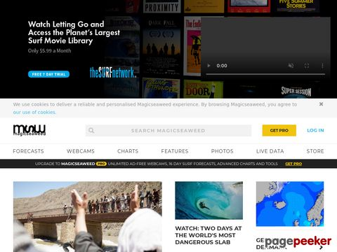 magicseaweed.com - Surf Reports, Surf Forecasts and Surfing Photos (weltweit)