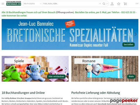 buchhaus.ch - Bücher bei Lüthy, Balmer und Stocker