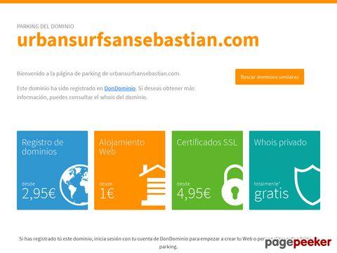 urbansurfsansebastian.com - Surfing in San Sebastian, Spain