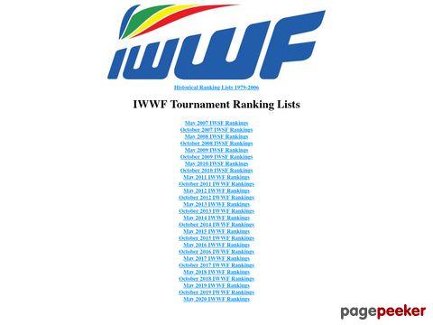 IWSF Tournament