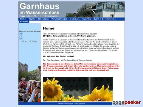 wasserschlosstour.ch - Schlauchbootfahrten, Flossabenteuer, Kanutouren