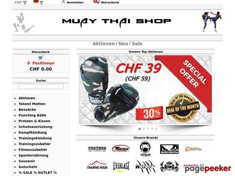 Muay Thai Shop - Alles rund um das Thai Boxen