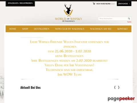 worldofwhisky.ch - planets biggest selection - 1000 Whiskys online