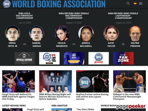 WBA - World Boxing Association - Official Site