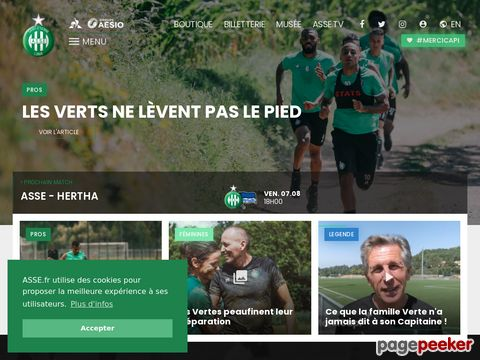 Association sportive de Saint-Etienne (ASSE)