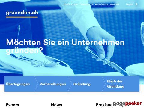 gründen.ch - Die Gründungsplattform des Kantons Zürich
