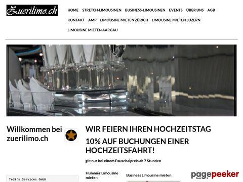 Für partylimousine, stretchlimousinen - AAA Swiss Ltd.
