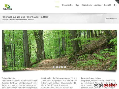 Ferienwohnung / Ferienhaus im Harz - Urlaub mit Hund im Harz