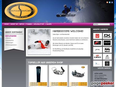 action-outlet - Der Trendsport-Shop im Outletpark Murgenthal AG