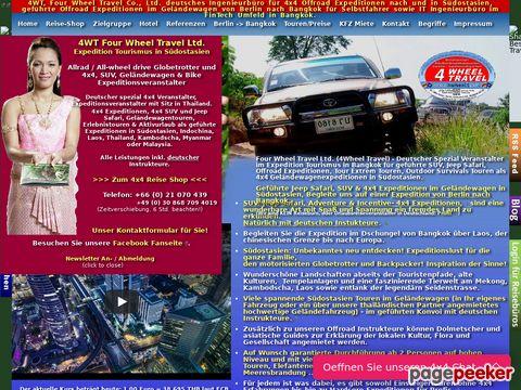 Thailandrundreisen im Geländewagen für Selbstfahrer
