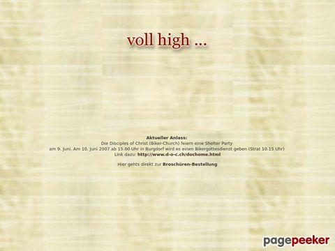 vollhigh.ch - Das Magazin für Drogenabhängige