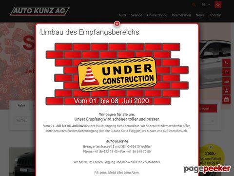 AUTO KUNZ AG - Gebrauchtwagen günstig