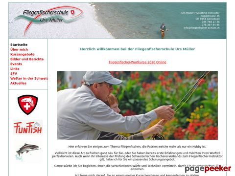 Fliegenfischen im Limmattal mit Urs Müller