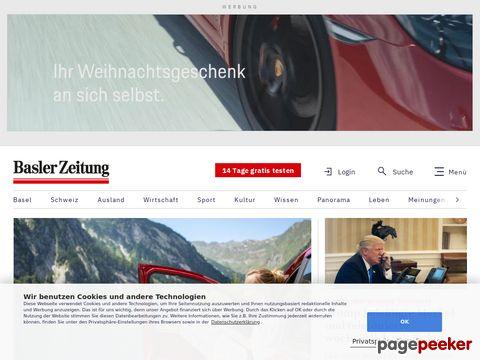 Basler Zeitung - BaZ online