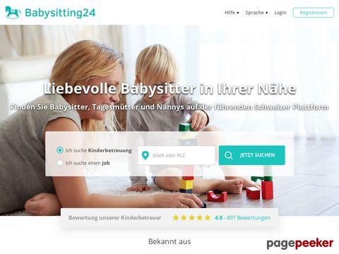 babysitting24.ch - Die Kinderbetreuungs-Suche für die Schweiz