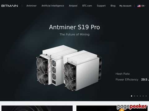 Asic Bitcoin Mining Hardware From Bitmain