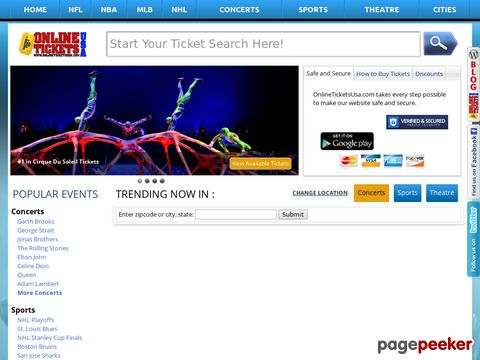 Online Tickets USA (USA)