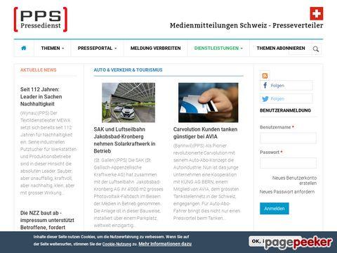 Presseportal Schweiz