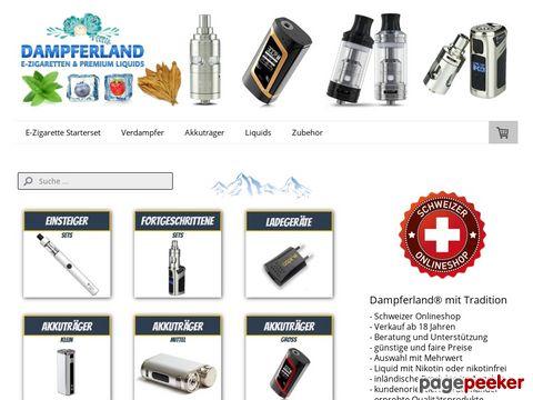 Dampferland - E-Zigarette kaufen