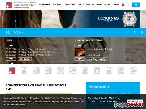 fnch.ch - Schweizerische Verband für Pferdesport (SVPS)