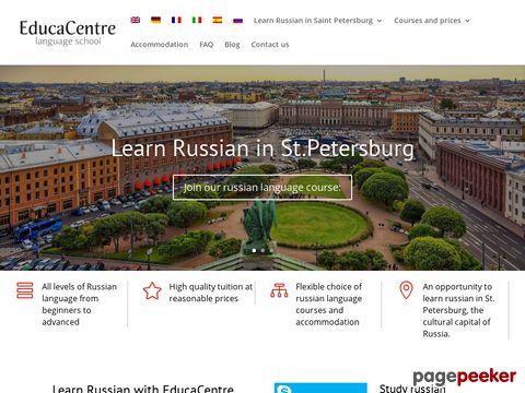 ProBa - Zentrum fuer Russisch als Fremdsprache in St. Petersburg